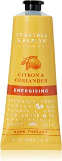 Crabtree and Evelyn Citron and Coriander Energising Hand Therapy by Crabtree and Evelyn for Unisex - 3.45 oz Cream, 103.5 milliliters