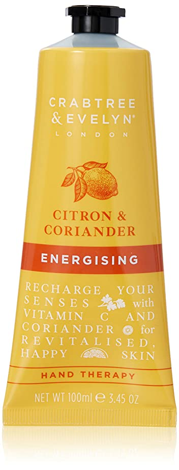 高度なカロリースクラップクラブツリー&イヴリン Citron & Coriander Energising Hand Therapy 100ml/3.45oz並行輸入品