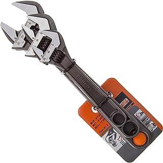 Bahco &Nbsp;Adjustable Spanner Triple Pack Contains 8070&Nbsp;8071&Nbsp;8072 16 Degree Head Angle. Black