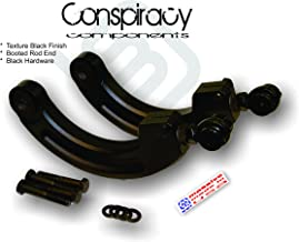 Massive MADE in USA RaceSpec Adjustable Camber Control Arms Rear Set Compatible w/Ford Focus 2000-2018 ST RS SVT Mazda 3 5 Mazdaspeed 2003-2013 Kit