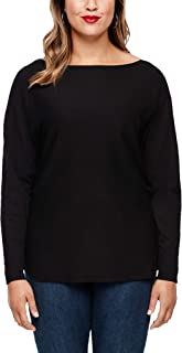 TRIANGLE Pullover Langarm Suéter para Mujer