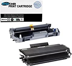 DIGITONER High Yield Toner Cartridge Replacement for Brother DR520 DR620 TN580 TN650 DCP-8070D/8080DN/8085DN/HL-5350DNLT/5370DW/5370DWT/5380DN/MFC-8380DN/8680DN/8690DW [1DR520+1TN580, 1+1} Pack]