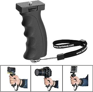 Fantaseal Agarre de mano de cámara Compatible para Canon Nikon Sony DSLR acción de la cámara cámara de vídeo de las luces