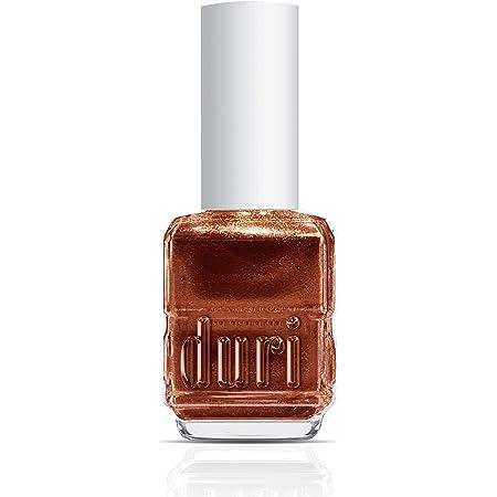 duri Nail Polish, 681 Flambe Orange, Orange Metallic Shimmer, Opaque, 0.5 fl.oz.