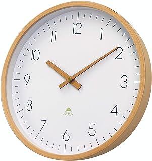 Alba Clock, Wooden, 30cm