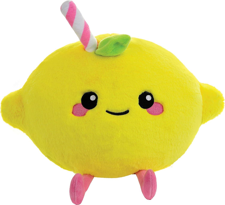 Ultra-Cheap Deals iscream Kawaii Cutie 3D Pink Department store Lemonade Embroidered Shaped Accent