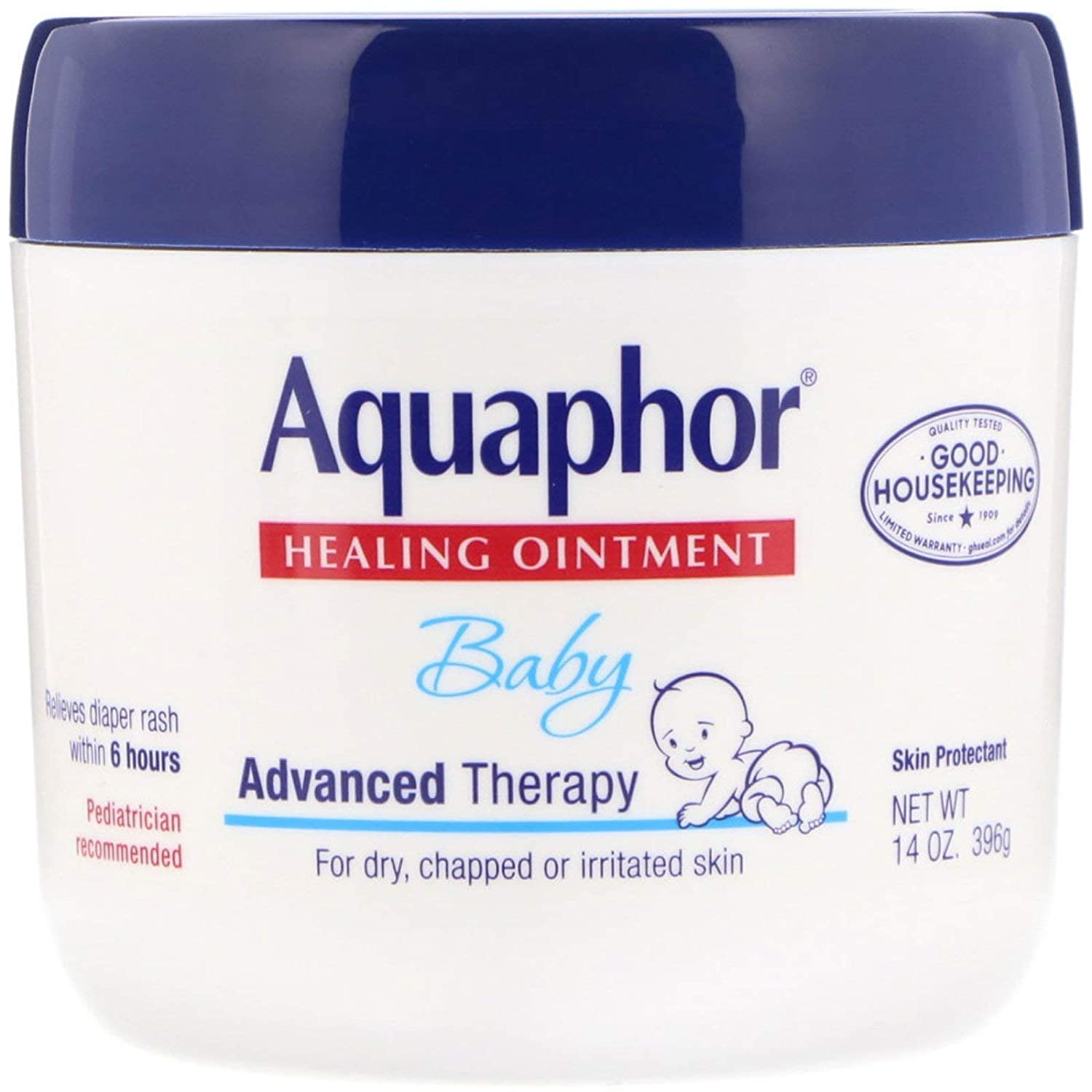 Aquaphor Baby Healing Ointment Advanced 14 Ounce Mail order Free shipping / New 41 Jar Therapy