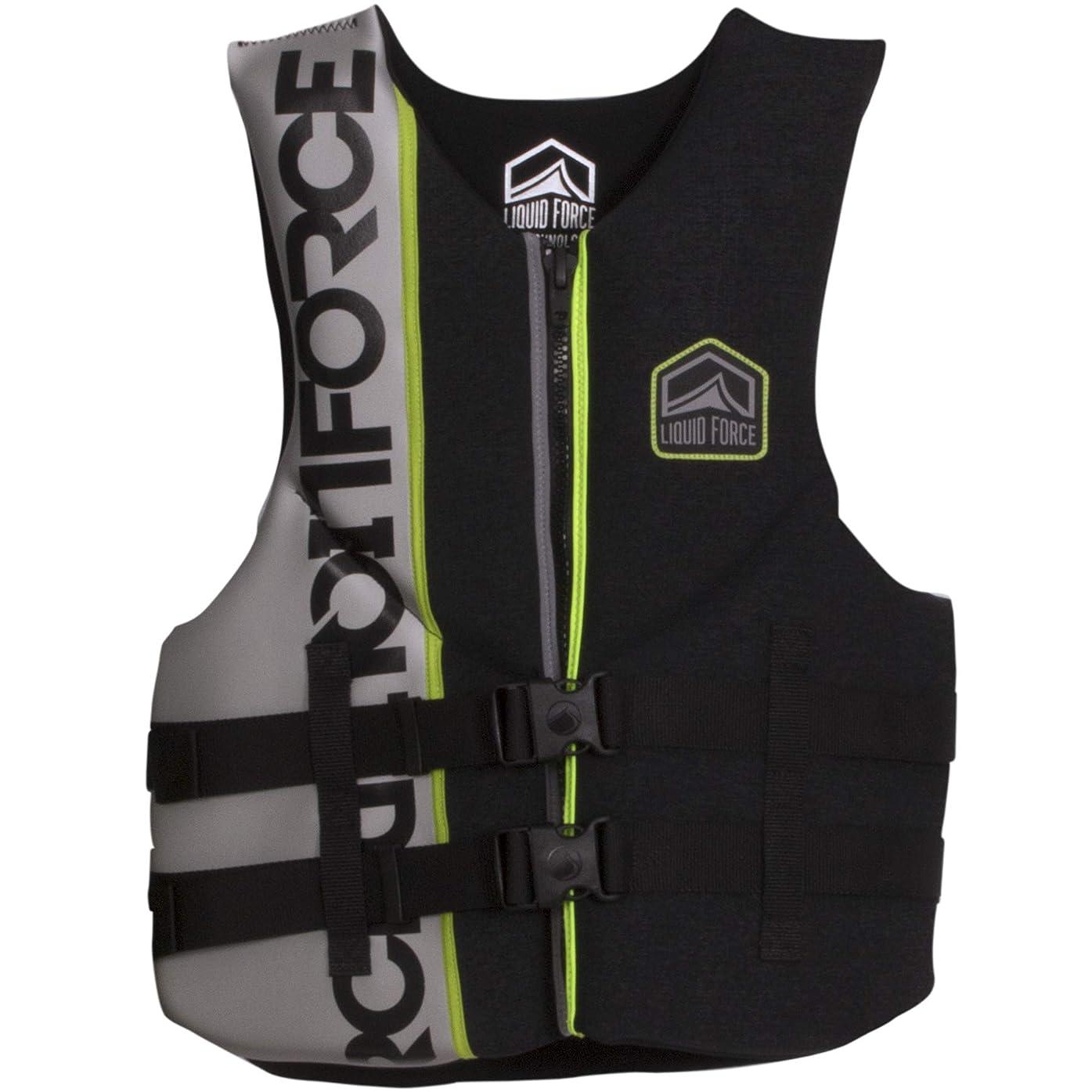 過言使い込む後世Liquid Force渦CGA Wakeboard Vest Mens