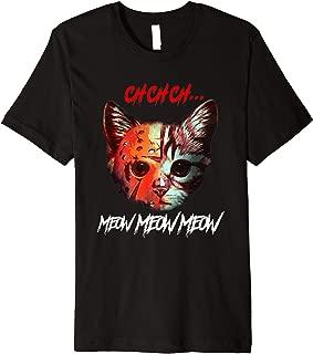 cat halloween ch ch meow meow gift Premium T-Shirt