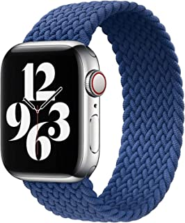 Watch Band for Apple Watch,Nylon Woven Elastic Watch Band,Woven, Loop Only,for Apple Watch Se,Compatible With Iwatch 5/4/...