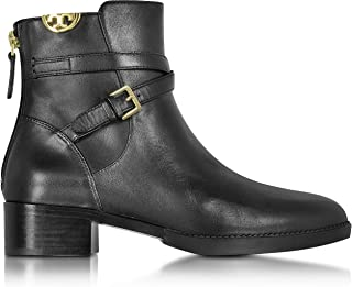 Women's Black Sidney Leather Ankle Boots, Perfect Black