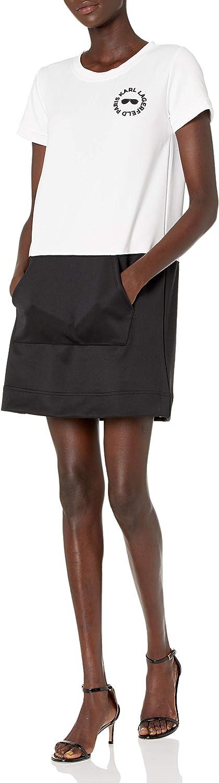 High quality new Karl Lagerfeld Attention brand Paris Women's Short Sneaker Dress Sleeve