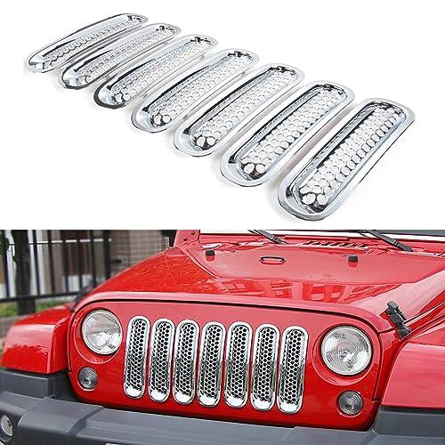 2015 Jeep Wrangler Accessories >> Chrome Jeep Wrangler Accessories Amazon Com