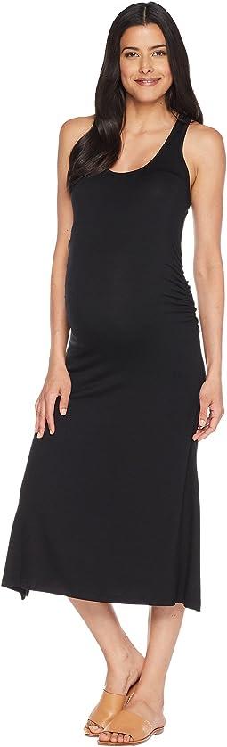 Maternity Racerback Midi Dress