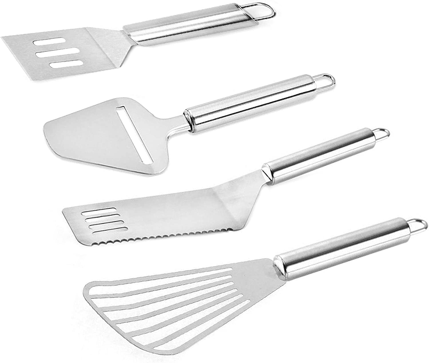 Stainless Steel Spatula Turner Set Fish Slo Portable Branded goods Fashionable