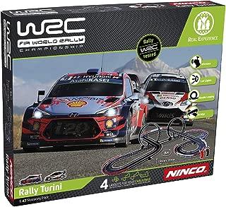 Ninco WRC Rally turini Circuito Slot, Color Variado, única (Fábrica De Juguetes 91011)