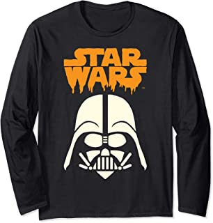 Star Wars Darth Vader Dripping Ooze Logo Halloween Manche Longue