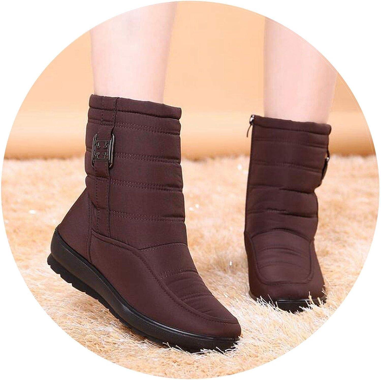 Summer-lavender Snow Boots Women Winter Boots Antiskid Waterproof Short Boots Women Boots