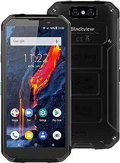 Blackview BV9500 Plus 4GB + 64GB 10000mAhバッテリー5.7インチAndroid 9.0 MTK6771T Octaコア、最大2.5GHz GSM、WCDMA、およびFDD-LTE (黒)