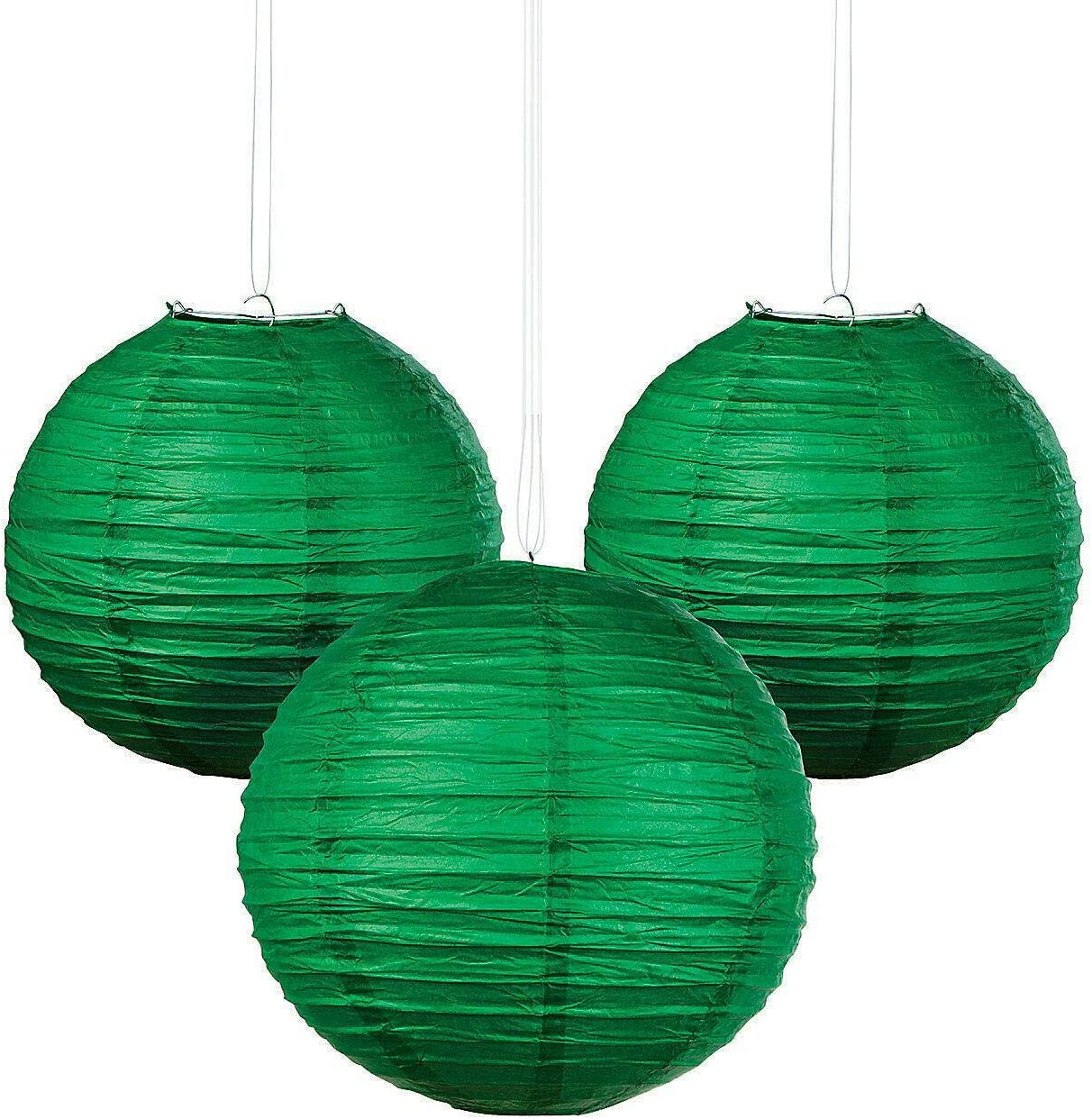 Green Max 65% OFF Hanging Paper Lanterns - Party Regular store 6 Lanter Sky Decor Pieces