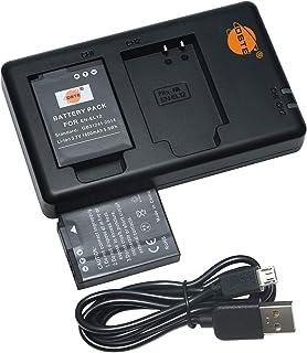 互換バッテリー DSTE EN-EL12 バッテリーパック 2個(大容量 1600mAh/3.7V) + 充電器 セットUSB 急速充電 Nikon Coolpix P300, P310, P330, P340, S31, S70, S610,...