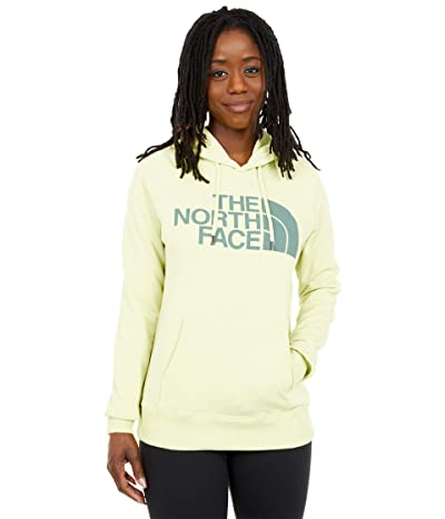 The North Face Half Dome Pullover Hoodie (Pale Lime Yellow) Women