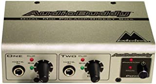 M-Audio 99004077600 Audio Buddy Preamp(Gold) (Discontinued by Manufacturer)