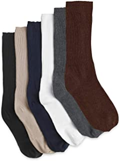 Harbor Bay by DXL Big and Tall 3-Pack Extra-Wide Crew Socks