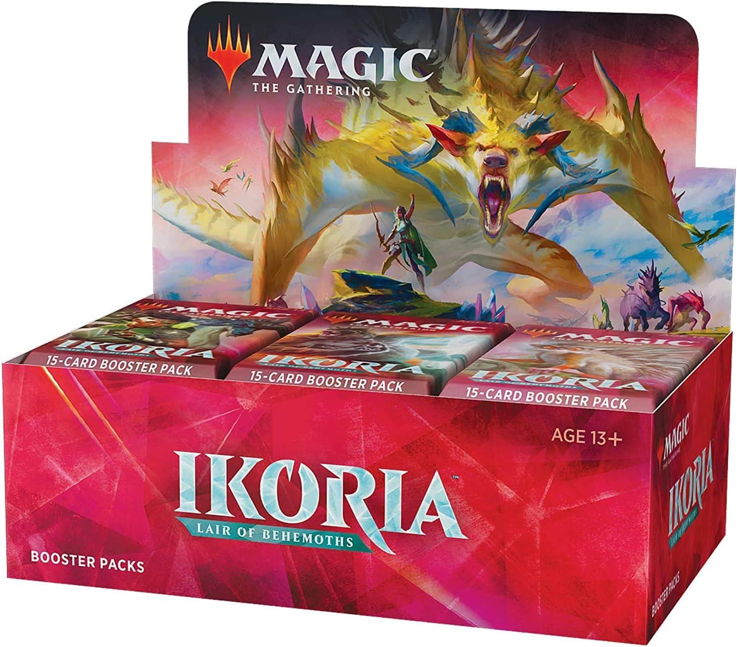 1x Ikoria Lair of Behemoths Booster Pack Brand New MTG MTG Booster Packs
