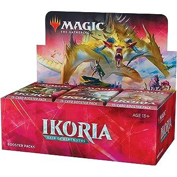 ウィザーズ・オブ・ザ・コースト MTG マジック:ザ・ギャザリング イコリア:巨獣の棲処 ブースターパック(Ikoria: Lair of Behemoths Booster Box) 英語版 36パック入り (BOX)