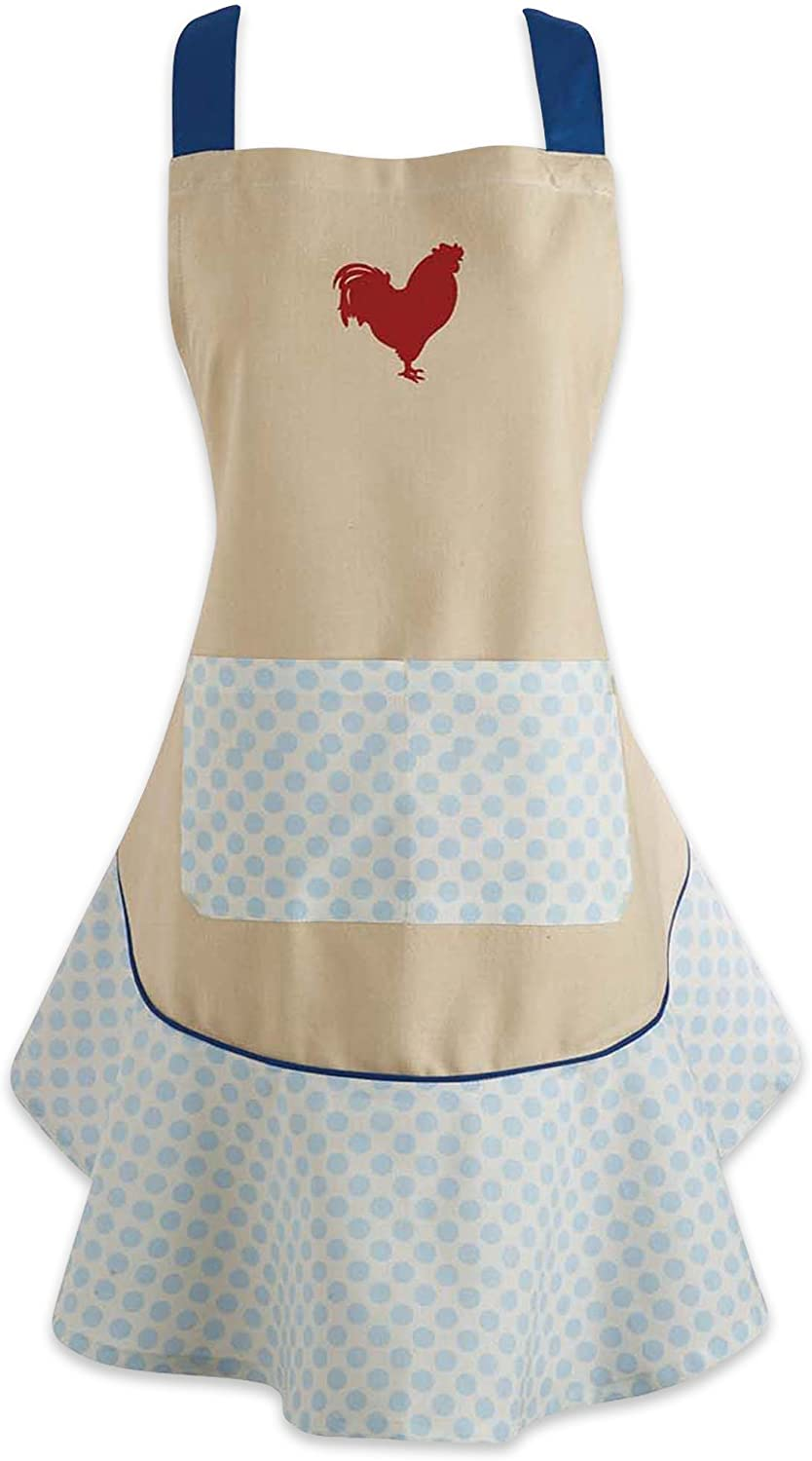 DII CAMZ35784 Cotton Women Kitchen free Apron and L Dealing full price reduction Extra Pocket with