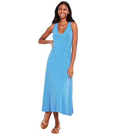 Vineyard Vines V-Neck Striped Maxi Dress