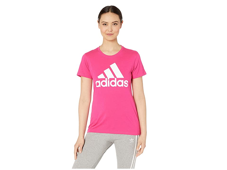 adidas Badge of Sport Classic Tee (Real Magenta) Women