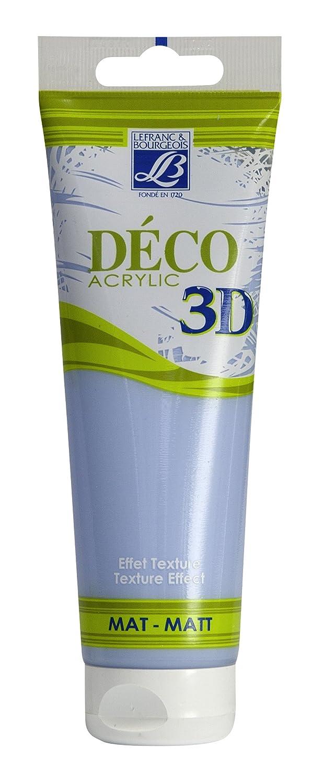 Lefranc Bourgeois Deco 3D Paint Matte Silver 120?ml Ciel d'été