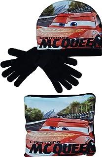 Disney Boys RH4243 Winter Hoed Sjaal Kraag en Handschoenen Set Zwart