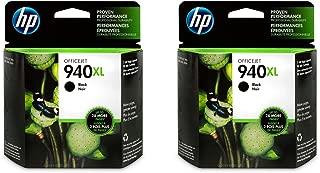 HP 940XL   Ink Cartridge   Black   C4906AN - 2 Pack