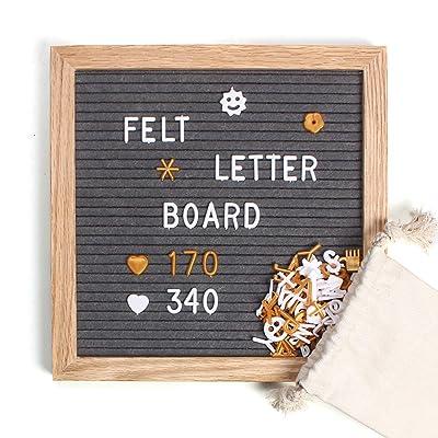 Felt Letter Board 10x10 Inch