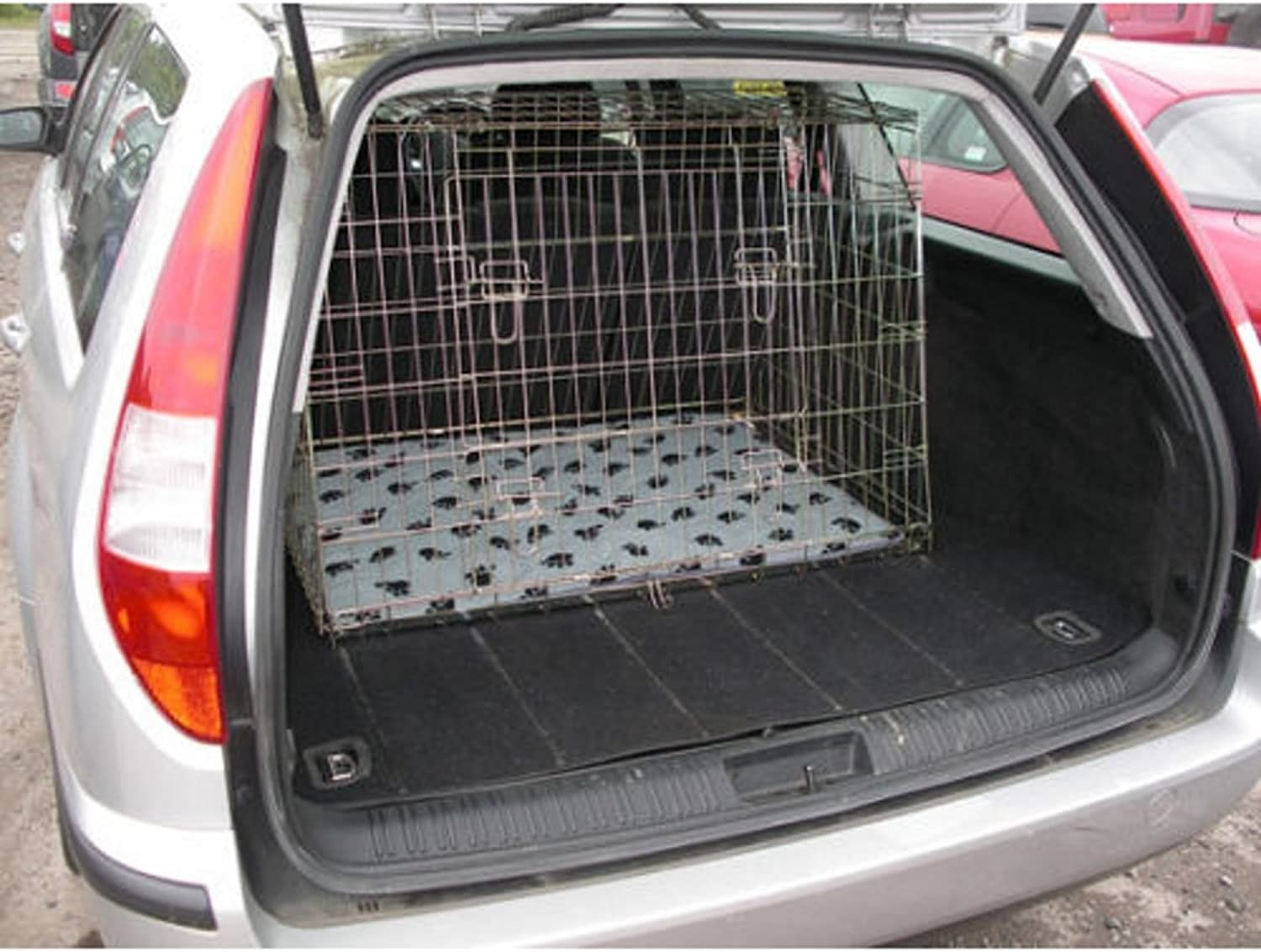 Arrow FORD MONDEO ESTATE 0015 SLOPED 4x4 ESTATE CAR DOG CAGE TRAVEL CRATE PUPPY BOOT GUARD CAGES