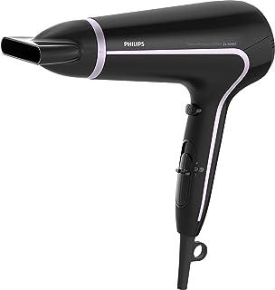 Philips Secador BHD170/40 - Secador de pelo (CC, Negro, Rosa, Acrilonitrilo butadieno estireno (ABS), Con agujero en la empuñadura para colgar, 1,8 m, 2200 W)