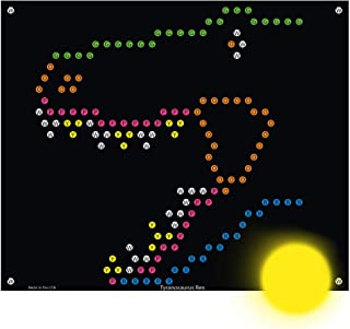 IllumiPeg Dinosaurs Refill templates for Basic Fun Lite Brite Ultimate Classic Toy (10 Sheets, 7x8)