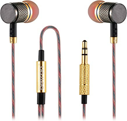 Betron YSM1000 Earphones Headphones, High Definition, in-ear, Noise Isolating, Heavy Deep Bass for iPhone, iPod, iPad, MP3 Players, Samsung Galaxy, Nokia, HTC (Without Microphone)
