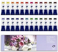 Paul Rubens Watercolor Tubes, 12ml Tubes 24 Colors Artist Grade Watercolor Paints Set, 24 Colors-01, 8ml/Tube