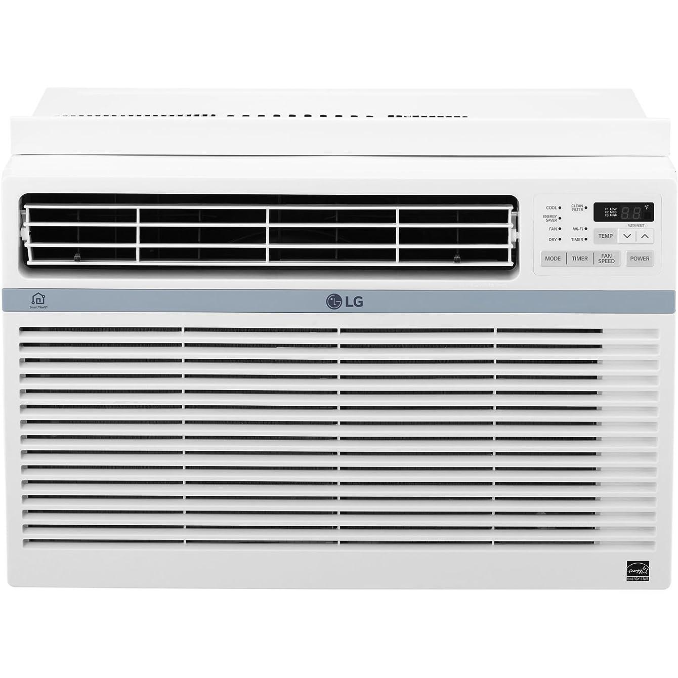 LG LW1017ERSM Energy Star 10,000 BTU Window Air Conditioner with Wi-Fi (Renewed)