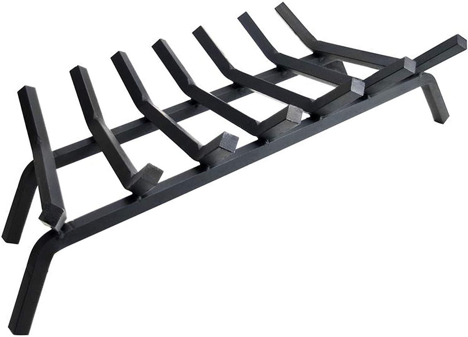 Fireplace Log Grate 30 inch Outstanding - 7 Grates Duty Time sale Fire Bar 4 3 Heavy