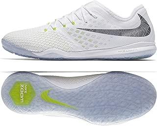 Nike Zoom PhantomX 3 Pro IC AJ3804-107 White/Volt/Grey Men's Indoor Soccer Shoes