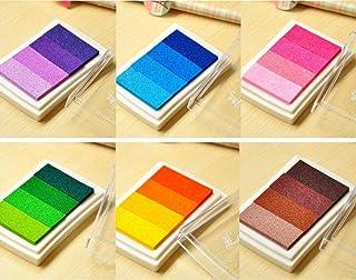 Timbri a rullo autoinchiostranti colori assortiti Plus Japan Guard-Your-ID 3 pezzi