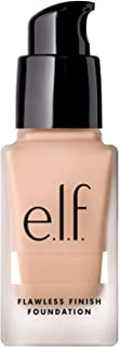 e.l.f. Flawless Finish Foundation, Semi-Matte, Long-Lasting Liquid Makeup, SPF 15, Porcelain, 0.68 Fl Oz