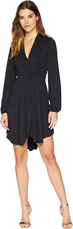 Modal Jersey Wrap Dress KSNU7083