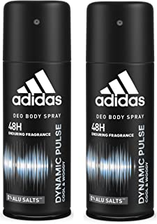 Adidas Dynamic Pulse Deodorant Body Spray for Men Combo (Pack of 2), 150ml