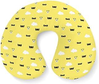 Super Hero Masks Travel Neck Pillow Inflatable